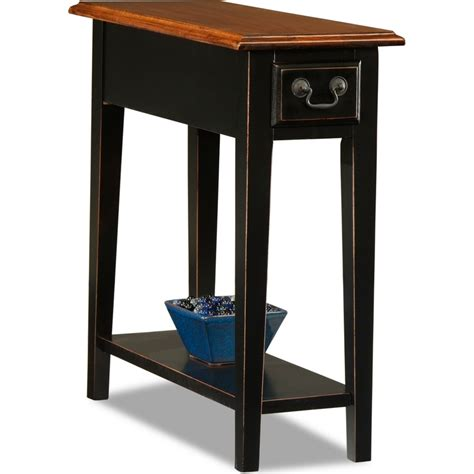 sl home decor leick furniture 9017 sl favorite finds side or end table