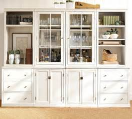 Bookshelves Pottery Barn Bookcases For A Home Office Traditional White Vs