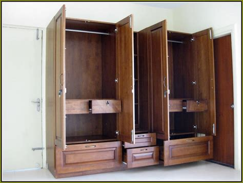 Large Wardrobe Closets by Large Wardrobe Closet Armoire Home Design Ideas