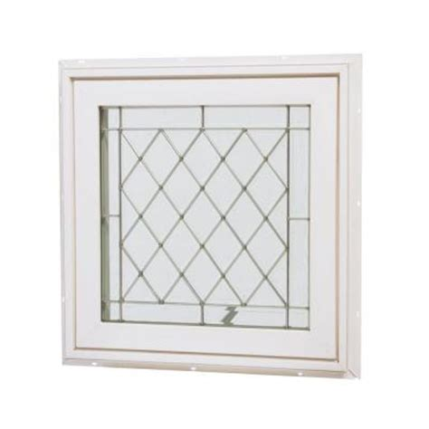 home depot awning window tafco windows 24 in x 24 in awning vinyl window white