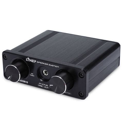 Headphone Portable portable 4 in 2 out audio switcher headphone signal