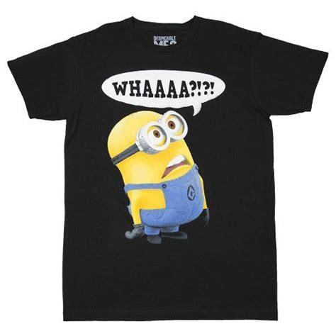 T Shirt Despicable Me Black 66 best despicable me images on minion stuff