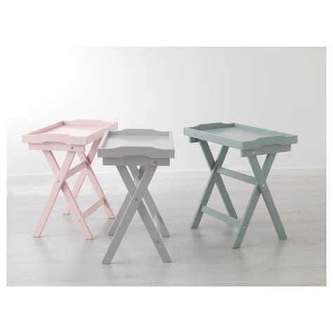 Folding Side Table Ikea Maryd Tray Table Grey 58x38x58 Cm Ikea