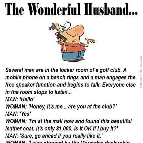 A Joke by The Wonderful Husband