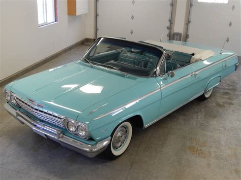impala convertible 1962 chevrolet impala convertible for sale