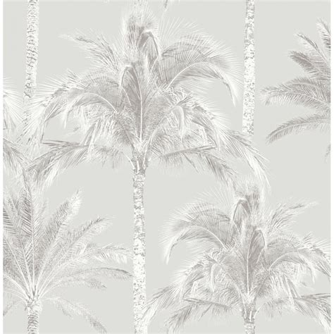 grey wallpaper with trees fine decor miami palm tree wallpaper soft grey fd40904