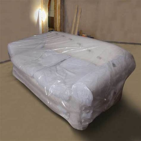 sofa plastic cover furniture covers packaging material your self store