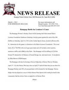 Sports Press Release Template by 6 Best Images Of Sports Press Release Template Events