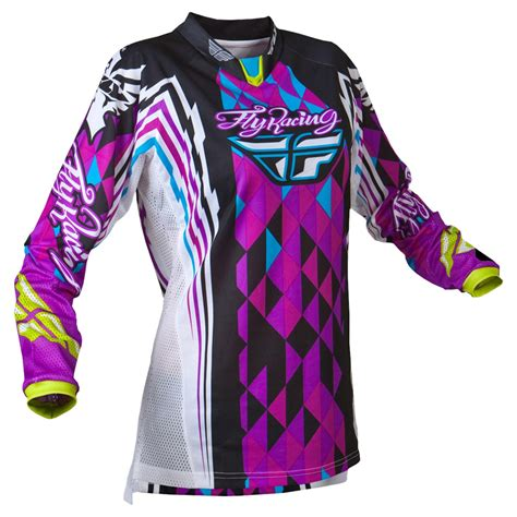 ladies motocross gear fly racing 2012 kinetic ladies mx womens girls race bike
