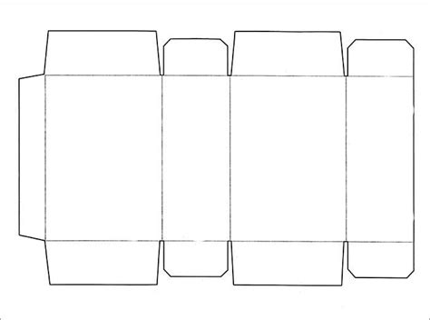 net templates for boxes box template free premium templates
