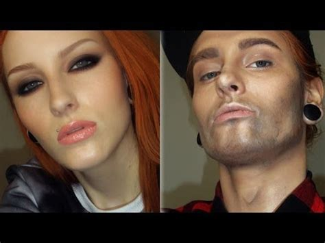 man to woman makeover woman to a man makeup transformation tutorial girl to