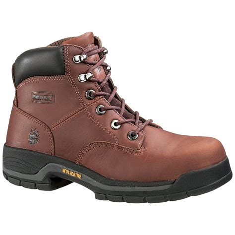 wolverine 174 s 6 quot harrison boots brown 146264 work