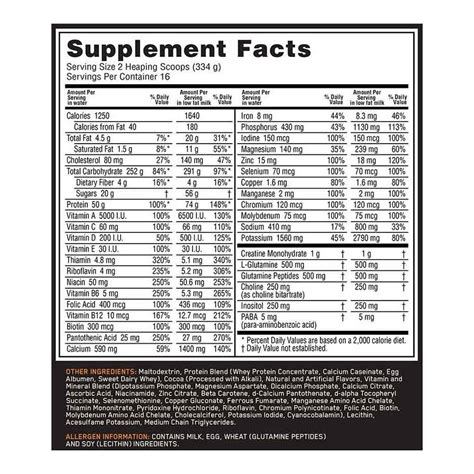 protinex nutrition facts serious mass nutrition facts mloovi