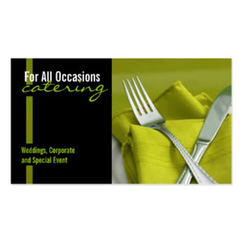 catering business card template 8 000 catering business cards and catering business card