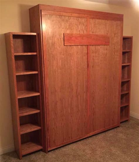 custom murphy bed custom cherry murphy bed general finishes design center