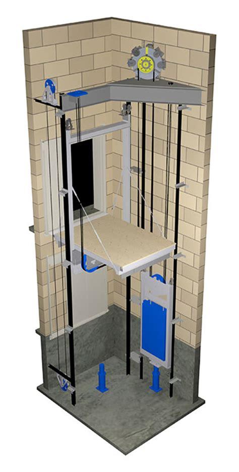 Machineless Room Elevator machine room less traction elevators mrl traction