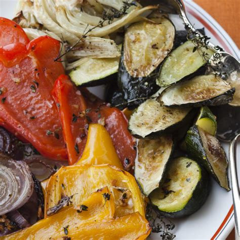 ina garten vegetables roasted summer vegetables recipes barefoot contessa