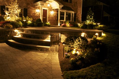 High End Landscape Lighting By Borsello Landscaping High End Outdoor Lighting
