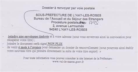 Lettre Demande De Jardin Familial Titre De S 233 Jour Pour Soins Portail Des 201 Trangers Du Val De Marne