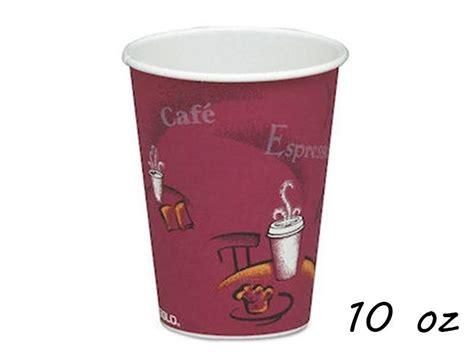 seda paper cups 1000 pcs bistro paper cup 10oz