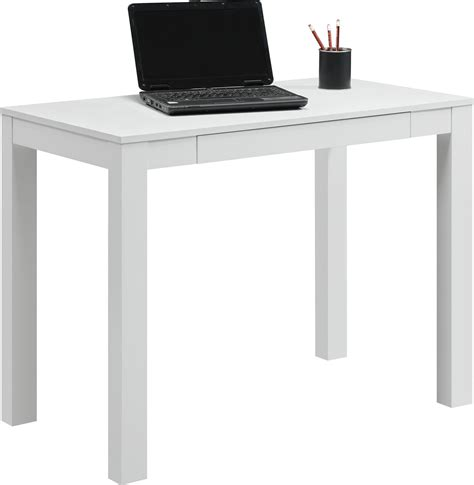 parsons table desk with drawers altra parsons desk with drawer white