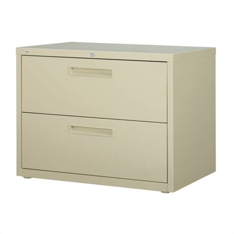 Lateral Filing Cabinet 2 Drawer Filing Cabinet File Storage Hirsh Industries 5000 Series 2 Drawer Lateral Putty Ebay