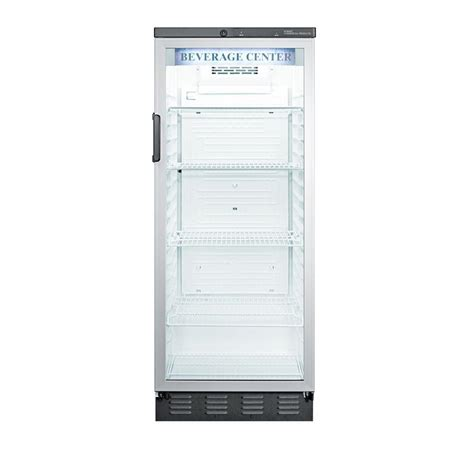 Summit Glass Door Refrigerator Summit Appliance Commercial 11 0 Cu Ft Glass Door All