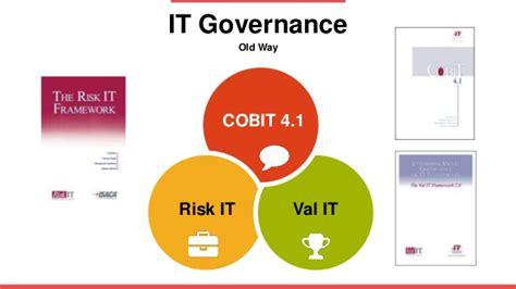 governance cobit  maturity assessment