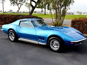Blue For Sale Sold 1969 Chevrolet Corvette Coupe L68 Lemans Blue For