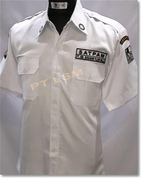 yingwei pet kerah dasi berwarna seragam satpam security laksana surya mandiri