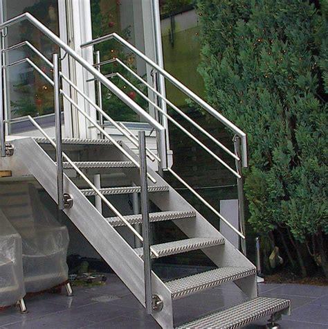 edelstahl treppe steiner edelstahl 187 gel 228 nder aus edelstahl inox
