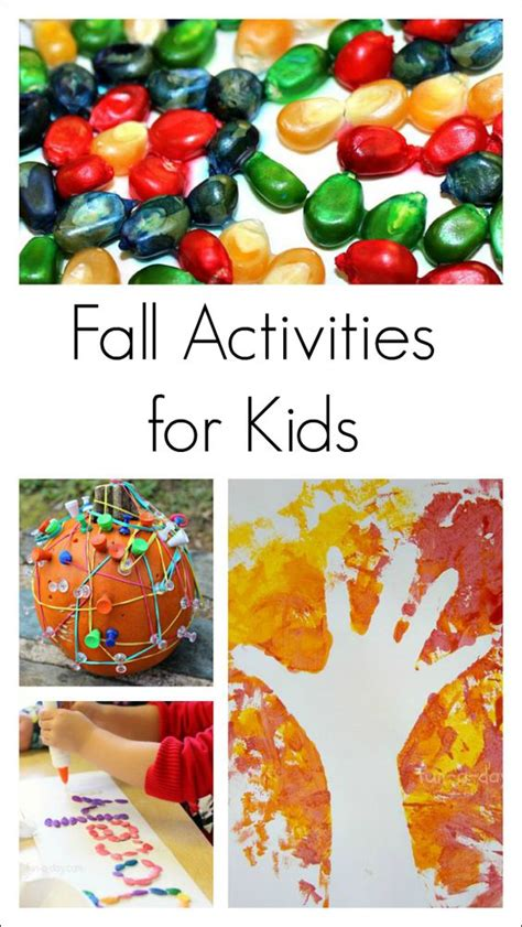 fun science project for young kids fall activities for kids fun fall activities and kids