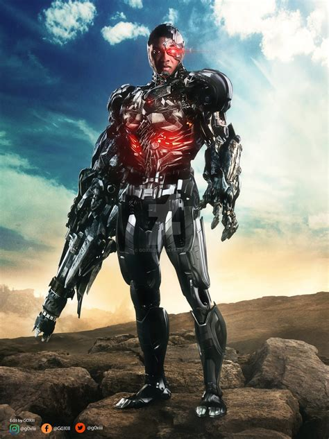 justice league film cyborg justice league cyborg by goxiii on deviantart