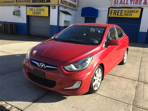 2013 Hyundai Accent For Sale by Used 2013 Hyundai Accent Gls Sedan 7 490 00
