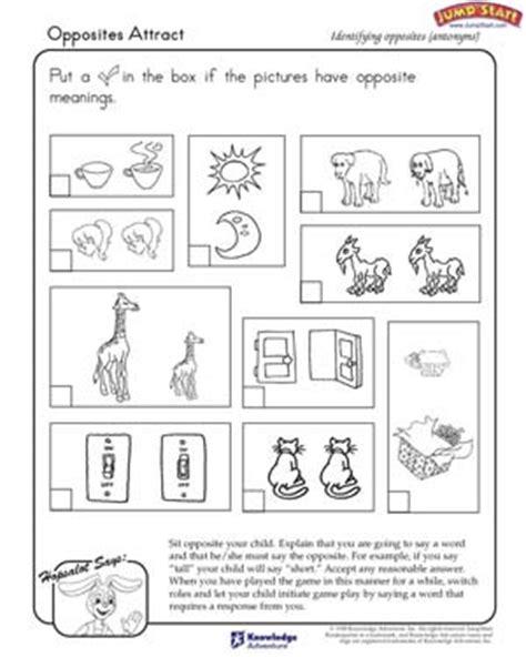 printable worksheets opposites kindergarten antonyms worksheets for kindergarten worksheets for all