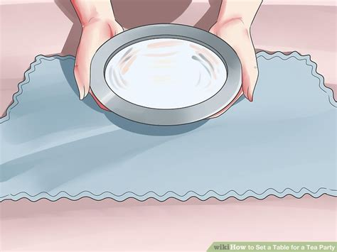 tea table set how to set a table for a tea with pictures wikihow
