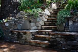 Landscape Stairs Design Steps Stairways Residential Landscape Design Construction Farnsworth Landscaping