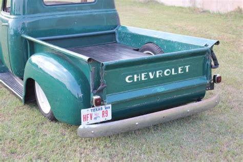 1949 chevy 3100 bed truck restomod