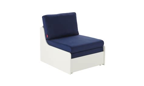 stompa sofa bed stompa uno s single chair sofa bed blue