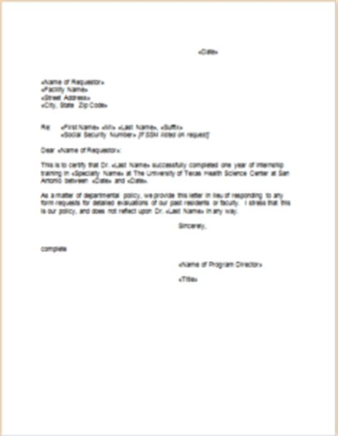Proof Letter For Internship 9 Verification Letter Templates For Use Templateinn