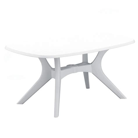 38 inch dining table kettler kettalux plus 63 x 38 inch rectangular resin patio