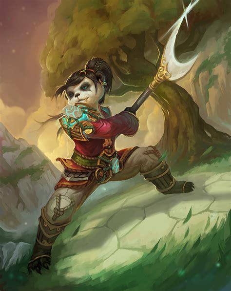 Warcraft Pandaren Fan Art | pandaren by plainandplain on deviantart