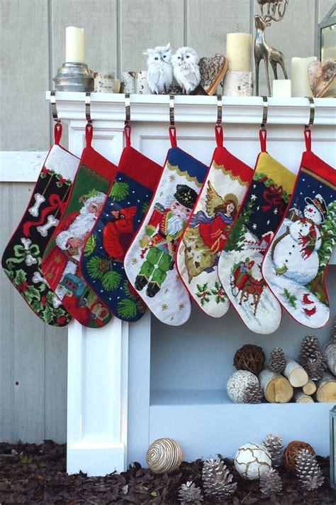 adorable christmas stockings decoration ideas festival   world