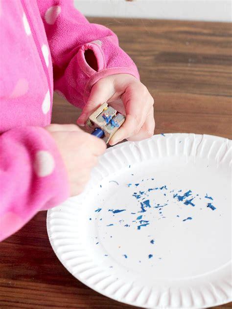 Wax Paper Arts And Crafts - craft wax paper rainbow hgtv
