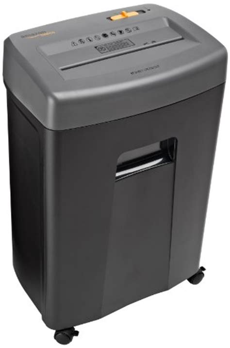 top rated paper shredder amazonbasics 17 sheet cross cut paper cd and credit card