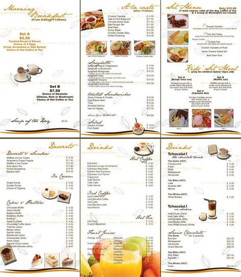 menu ideas menu design layout www pixshark images galleries with a bite