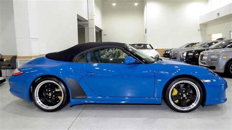 2011 porsche speedster for sale 2011 porsche 911 speedster for sale photo
