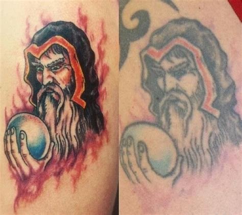 new tattoo looks wrinkled 11 pics reveal how tattoos age over long time periods