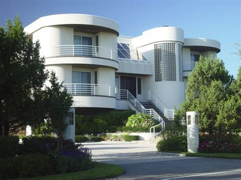 modern two storey house with streamline roof house styles the look of the american home