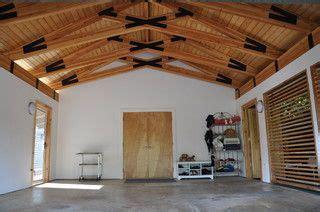 noio street kahala residence roof truss design garage